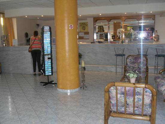 Hotel Macedonia: Reception,Macedonia hotel