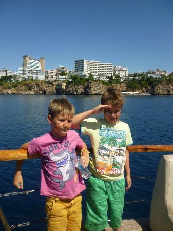 Kervansaray Kundu Beach Hotel: Boat trip