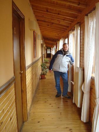 Hosteria Hainen: Pasillo de las habitaciones