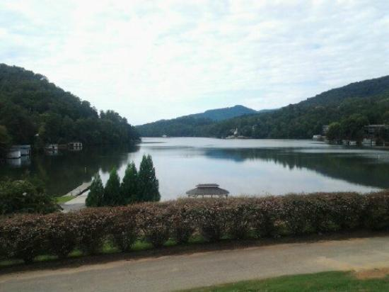 Rumbling Bald Resort on Lake Lure: View from clubhouse