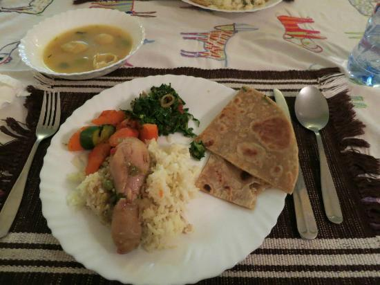 Sandavy Guest House - Kilimani: One of our delicious meals made by Peter. Get the chapati!