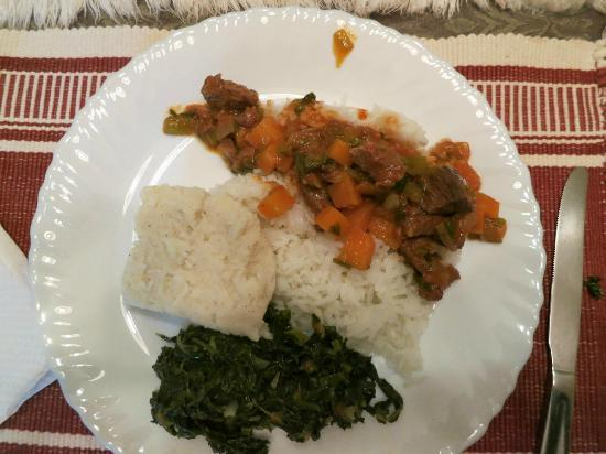 Sandavy Guest House - Kilimani : Another one of Peter's delicious meals!
