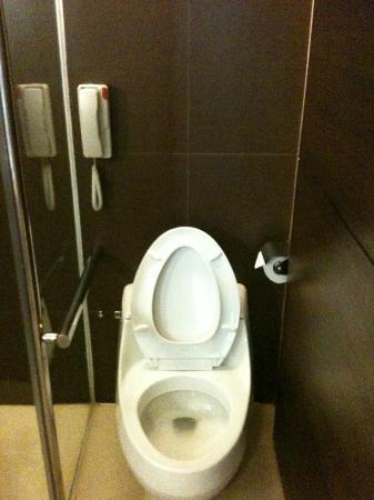 Century Park Hotel: toilet