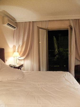 Hotel du Petit Palais: our room with garden