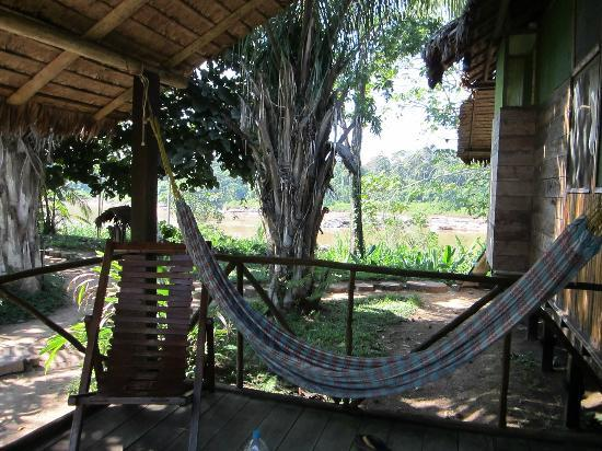Wasai Tambopata Lodge: balcony