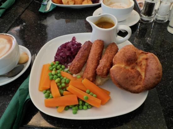Greens Cafe & Bistro : Greens 'Not Toad in the Hole'