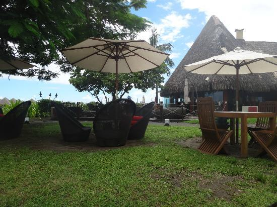 Le Meridien Tahiti: We ate lunch here most days