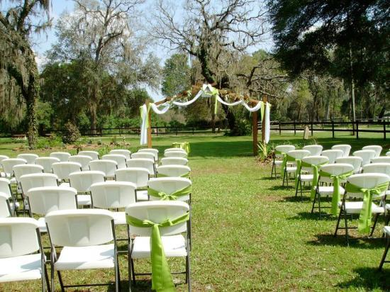 Cypress House Ranch Bed and Breakfast: Wedding