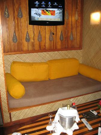 Le Meridien Tahiti: Sofa