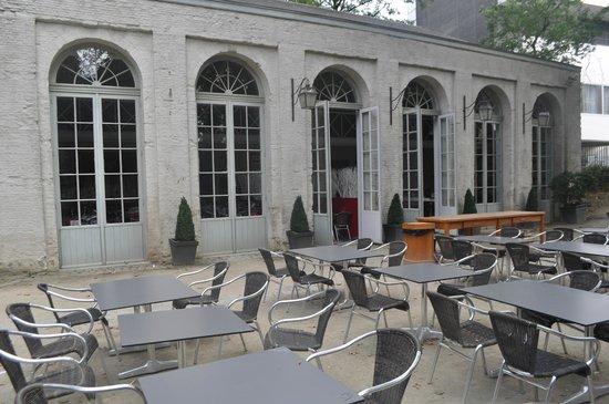 L'orangerie du parc d'Egmont
