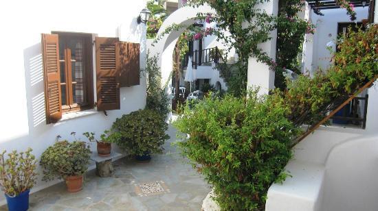 Hotel Christina: garden
