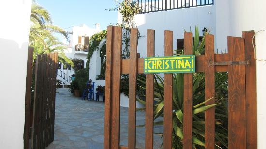 Hotel Christina: entrance