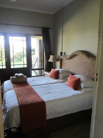 Kariega Game Reserve: 2nd bedroom in lodge