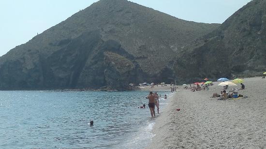 Carboneras, Spanien: Beach View