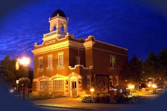 Old Town Manassas City Hall at Night