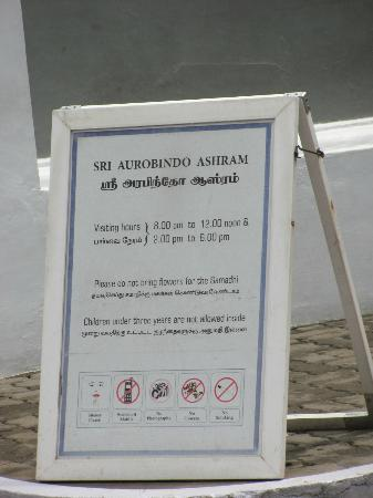Pondicherry, India: Timings