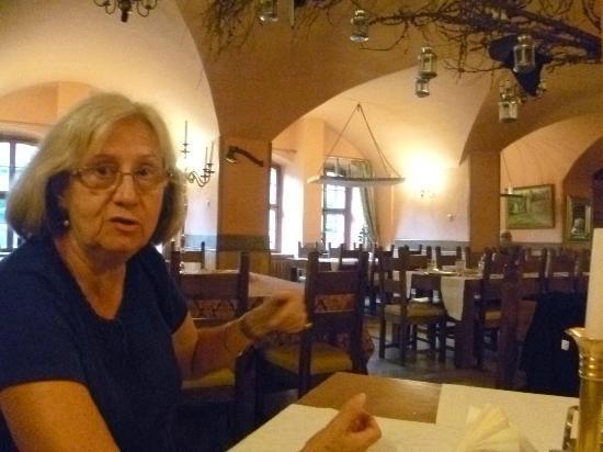 Hotel Zamek: Dining room