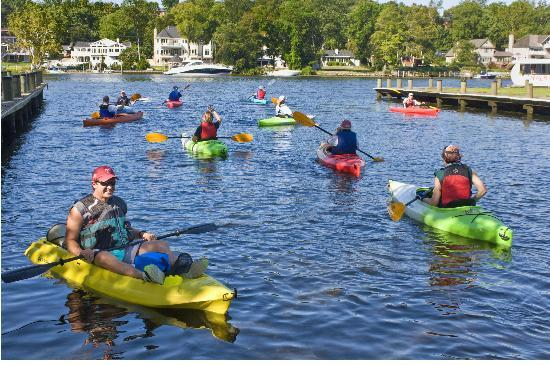 Did you know you can kayak with the Mayor of Occoquan?