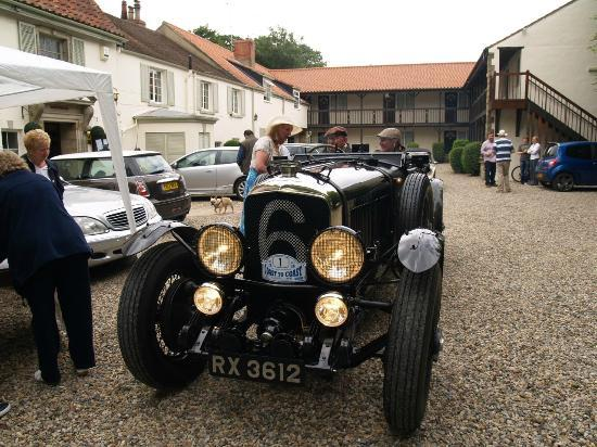 East Ayton Lodge: Bentley - one of the Le Mans works team