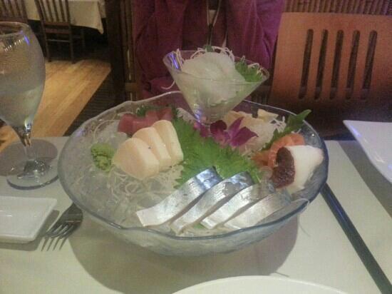 Shinbashi: sashimi