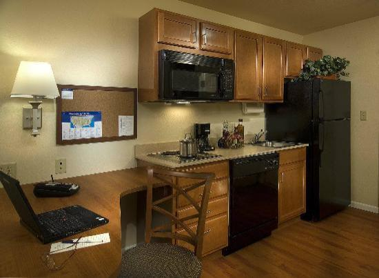 Candlewood Suites at Village West: Standard Kitchen in every Suite