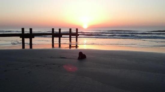 Lark Motel : Sunrise on the beach
