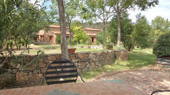 Molino Rio Alajar: View from Reception