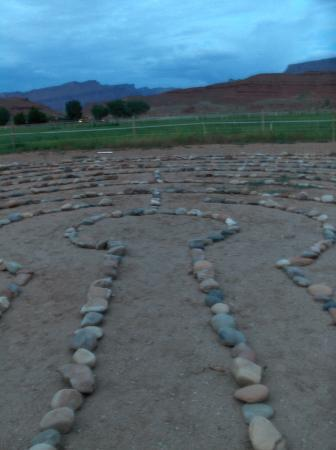 Sorrel River Ranch Resort and Spa: Walked the labyrinth and contemplated my path