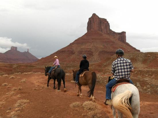 Sorrel River Ranch Resort and Spa: Amazing horse rides offered each day
