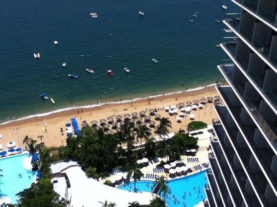 Grand Hotel Acapulco: vista desde el piso 21