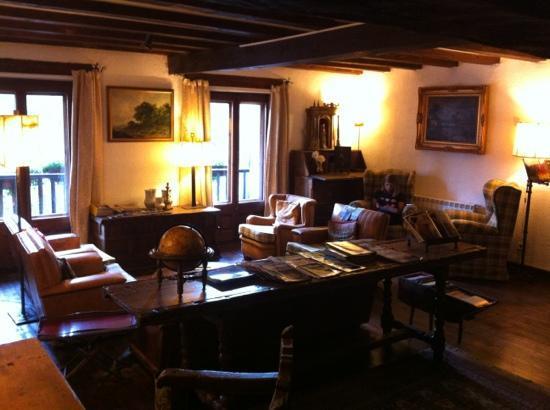 Hotel Santa María Relax de Taüll: sala lectura
