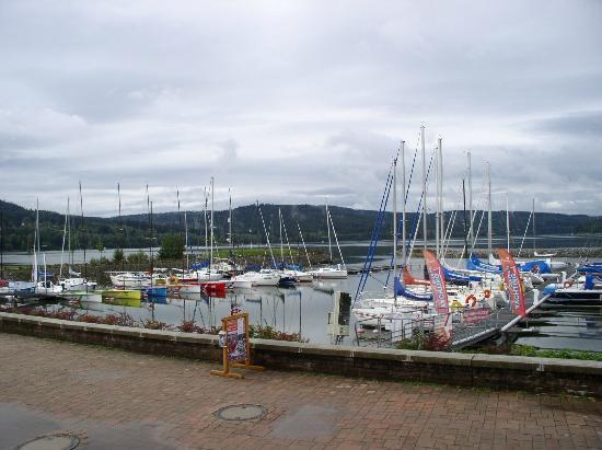 Landal Marina Lipno: los barcos en la playa