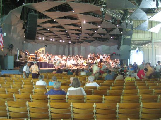 Haflinger Haus: Boston Symphony rehersal, good treat and experience.