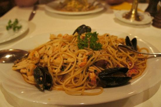 Al Castagno : spaghetti mare