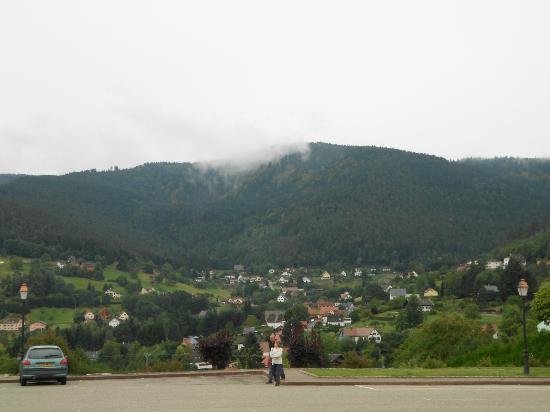 Parc Hotel Wangenbourg : vue imprenable de l'hôtel