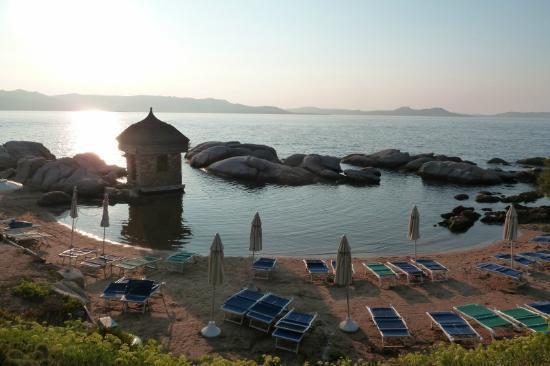 Club Village Forte Cappellini: spiaggia al tramonto