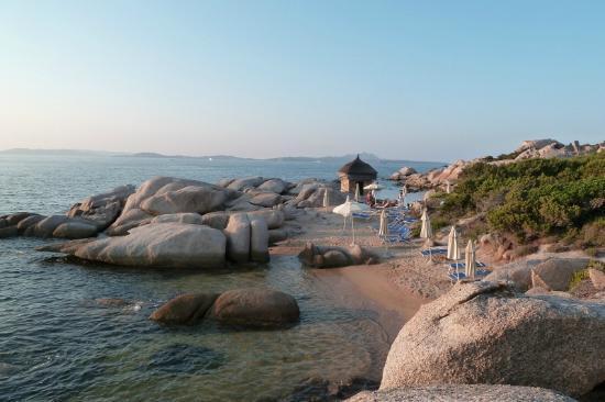 Club Village Forte Cappellini: seconda caletta al tramonto