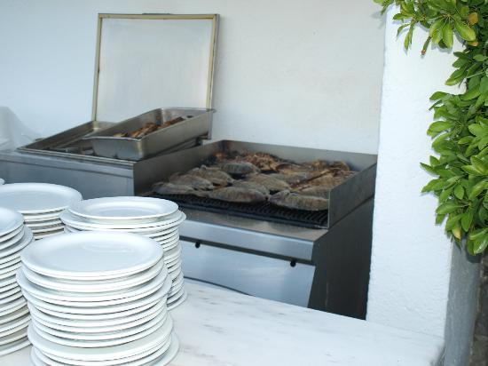 Peninsula Resort & Spa: poissons grillés
