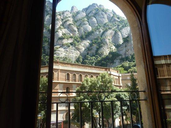 Hotel Abat Cisneros: Vista desde la habitacion del hotel