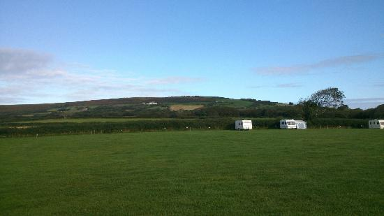Kennexstone Camping and Touring Park: view from our pitch