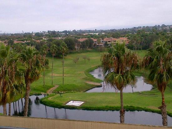 Manhattan Beach Marriott: The view from the 5th floor balcony