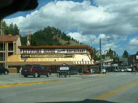 Keystone House Restaurant : the second and the last restaurant we ate in Keystone.