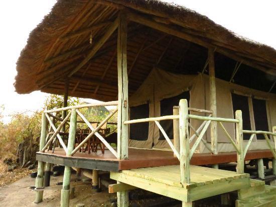 Tarangire River Camp: our tent