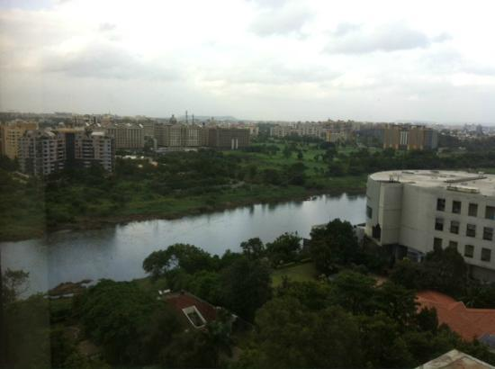 The Westin Pune Koregaon Park: The view from our room