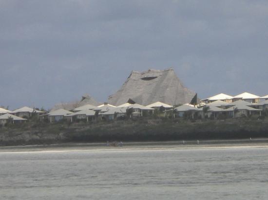 ora resort watamu bay visto dalla spiaggia