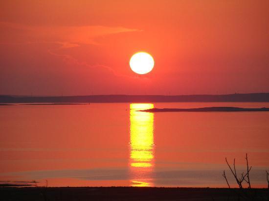 Hotel Pagus: Zachód słońca na Pag