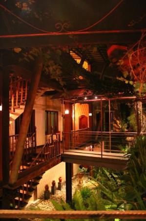 Junjungan Ubud Hotel and Spa: vue de l'accueil