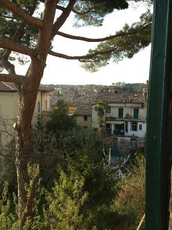 Residenza d'Epoca Palazzo Fineschi Sergardi: View from one of the bedrooms.