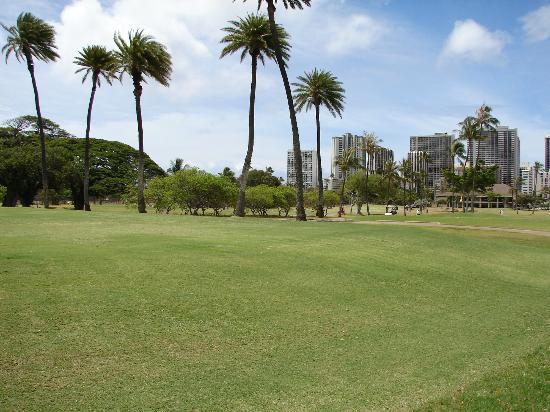 Ala Wai Municipal Golf Course: As you can see, close to Waikiki hotels.