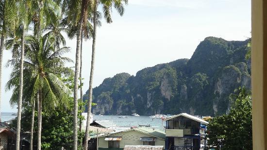 PP Insula: Vue du balcon de notre chambre